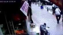 Otopark görevlisinin vurulma anı