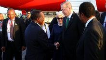 Cumhurbaşkanı Erdoğan, Tanzanya'da resmi tören ile karşılandı