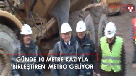 Bostancı-Dudullu metrosu için ilk kazma vuruldu