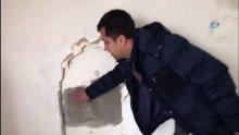 Duvarı delerek soydular