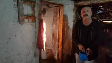 Samsun'da evin farklı yerlerinde kendiliğinden yangın çıkıyor