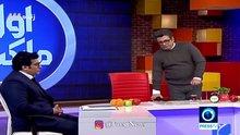 İran devlet televizyonu sunucusu canlı yayında bayıldı