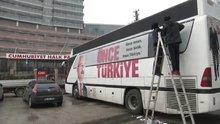"""CHP, otobüslerinden """"evet"""" mührünü kaldırttı"""