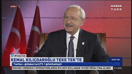 Kemal Kılıçdaroğlu - Teke Tek(24.01.2017) / 2.Kısım