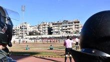 Halep'te ilk maç