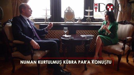 Başbakan Yardımcısı Numan Kurtulmuş Kübra Par'a konuştu