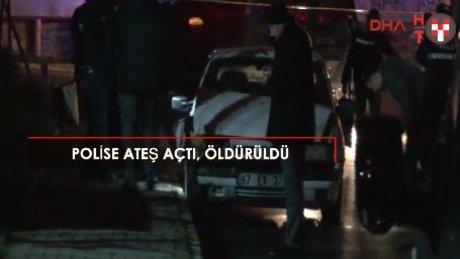 Gaziosmanpaşa'da polise silahlı saldırı: 1 ölü, 1 yaralı