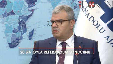"""Kaynak: """"10-20 bin seçmenle referandum neticesi değiştirilemez"""""""