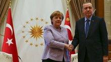 Cumhurbaşkanı Erdoğan ile Angela Merkel'in açıklaması