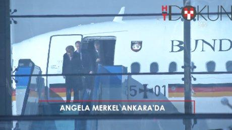 Şansölye Merkel Ankara'da