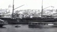 Sessiz sinemada eski İstanbul