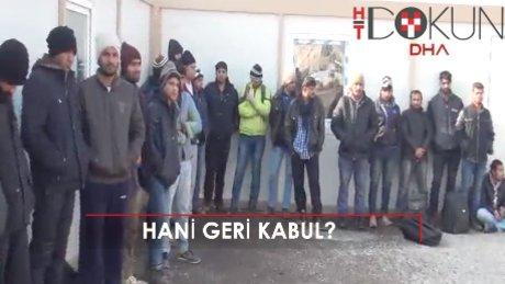 Yunanistan göçmenleri zorla bota bindirip geri gönderdi