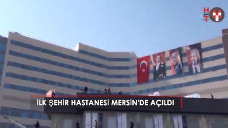 """Erdoğan: """"Şimdi hastane mi görmek istiyorsun, gel Mersin'e"""""""