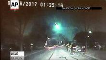 ABD'ye meteor düştü