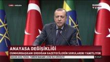 Cumhurbaşkanı Erdoğan'dan referandum süreci açıklaması!