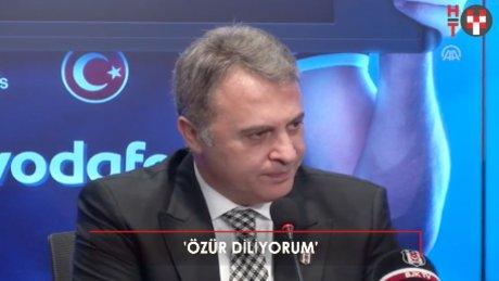 """Fikret Orman: """"Spor kamuoyundan özür diliyorum"""""""