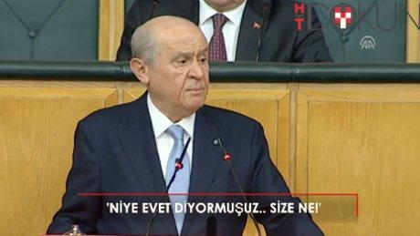 Bahçeli: 'Doğu Perinçek ile Erdoğan arasında seçim yapacak olursam...'