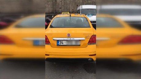 İkiz plakalı ticari taksi dolandırıcısı yakayı ele verdi