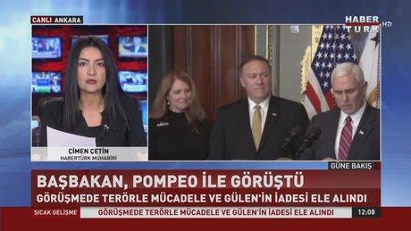 Başbakan Yıldırım, CIA Başkanı ile görüştü