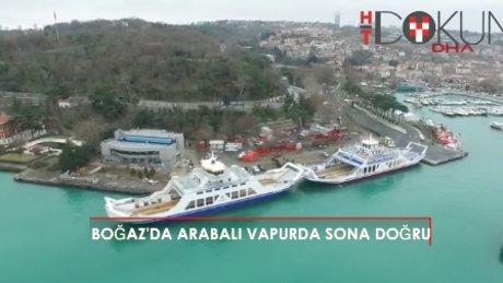 İstanbul Boğazı'na arabalı vapur geliyor