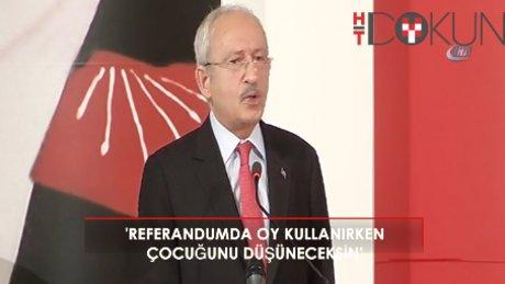 """Kılıçdaroğlu: """"Hayır çıkarsa Türkiye rahat bir nefer alır"""""""