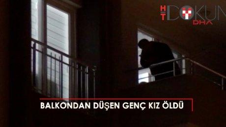 Adana'da balkondan düşen genç kız öldü