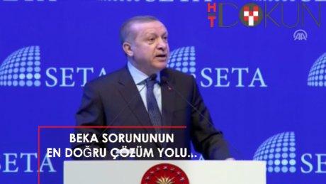 """Erdoğan: """"Millet ne derse o olacak, Allah ne derse o olacak"""""""