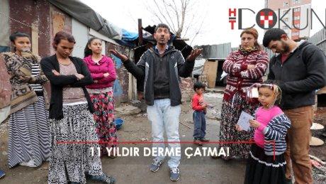 18 nüfuslu Dum ailesi yardım bekliyor