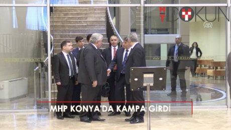 MHP'nin Konya kampı başladı