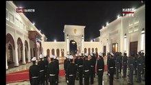 Cumhurbaşkanı Erdoğan, Bahreyn'de törenle karşılandı