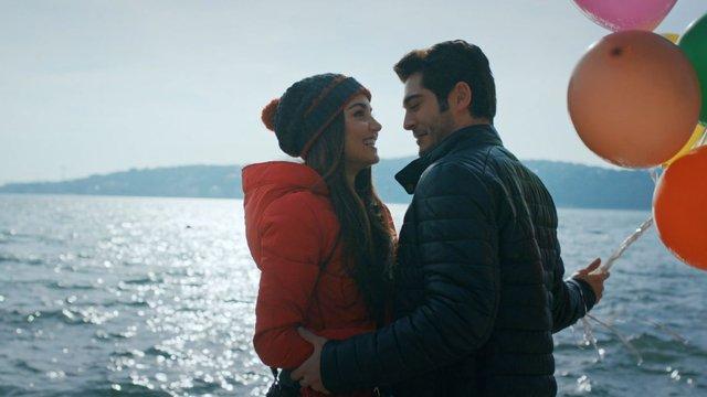 Hayat ve Murat'ın romantik anları!
