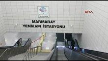 Marmaray seferlerinde aksama