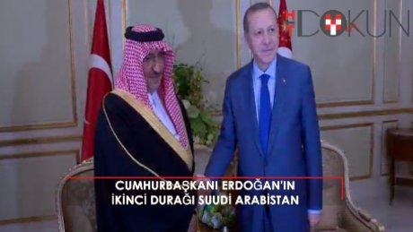 Cumhurbaşkanı Erdoğan, Suudi Arabistan Veliaht Prensini kabul etti