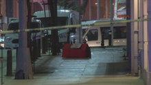 Beyoğlu'nda tabut şeklindeki kutu polisi alarma geçirdi