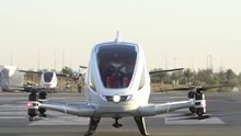 Dubai'de uçan taksiler