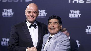 İşte Maradona'nın yeni işi