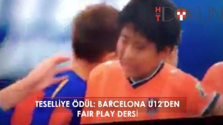Barça'lı miniklere 'teselli' ödülü