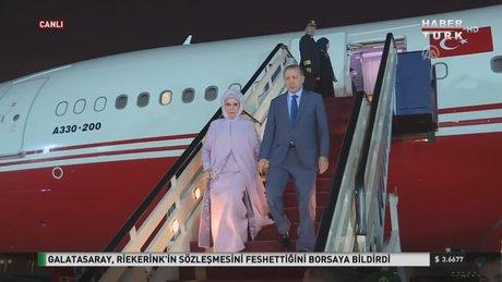 Cumhurbaşkanı Erdoğan, Suudi Arabistan'da umre yaptı