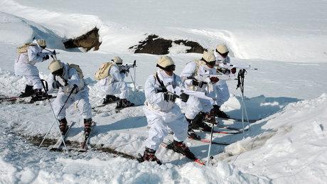 TSK'nın 'Kış tatbikatı 2017' tatbikatı nefes kesti