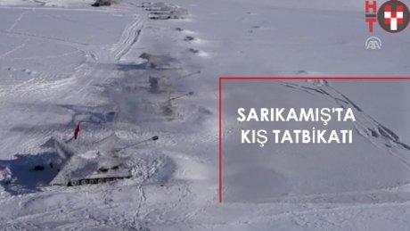"""TSK'dan Sarıkamış'ta """"Kış Tatbikatı"""""""