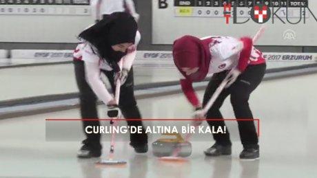 Curling'de kızlar altına koşuyor!