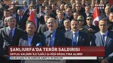 Bakanlar terör saldırısının yaşandığı Viranşehir'de