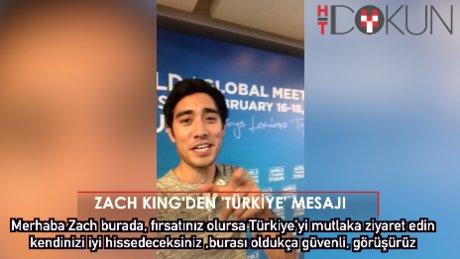 """Zach King'den Türkiye yorumu: """"Burası Avrupa ülkesi gibi"""""""