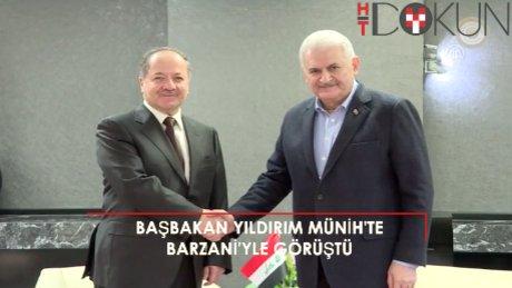 Başbakan Yıldırım ve Barzani Münih'te görüştü