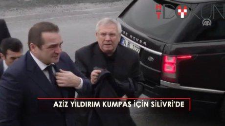 Silivri'de Aziz Yıldırım-Mehmet Baransu gerilimi!