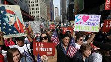 ABD'de 'Bugün ben de Müslümanım' eylemi