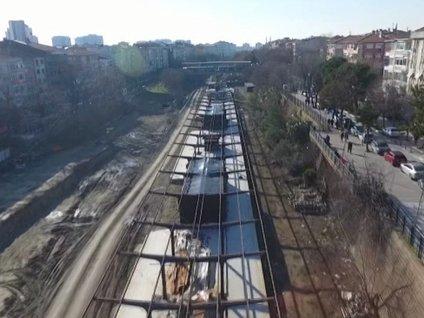 Halkalı Sirkeci Tren Hattında Son Durum Görüntülendi