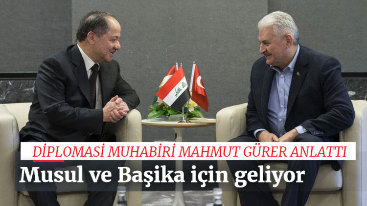 Barzani Türkiye'ye geliyor
