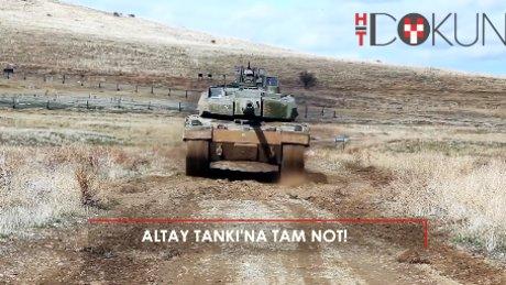 Altay tankına tam not!