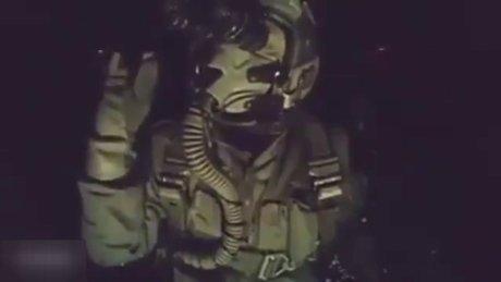 EL BAB'DA DEAŞ'I BOMBALAYAN TÜRK PİLOTUN NUSRET TAKLİDİ